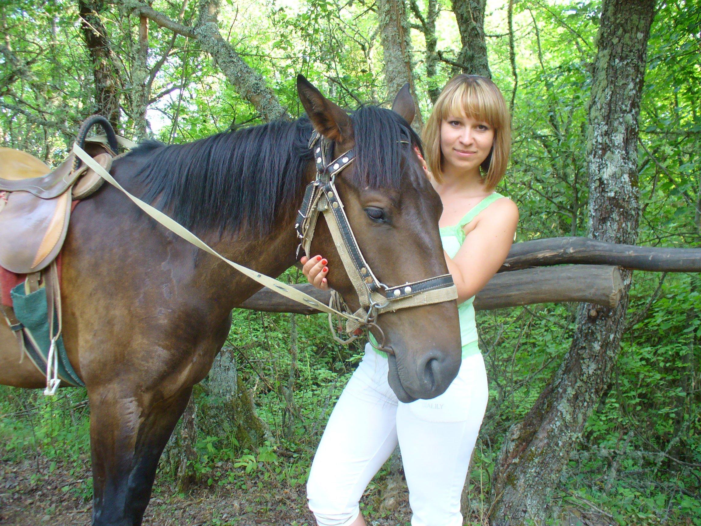 конная прогулка в горах