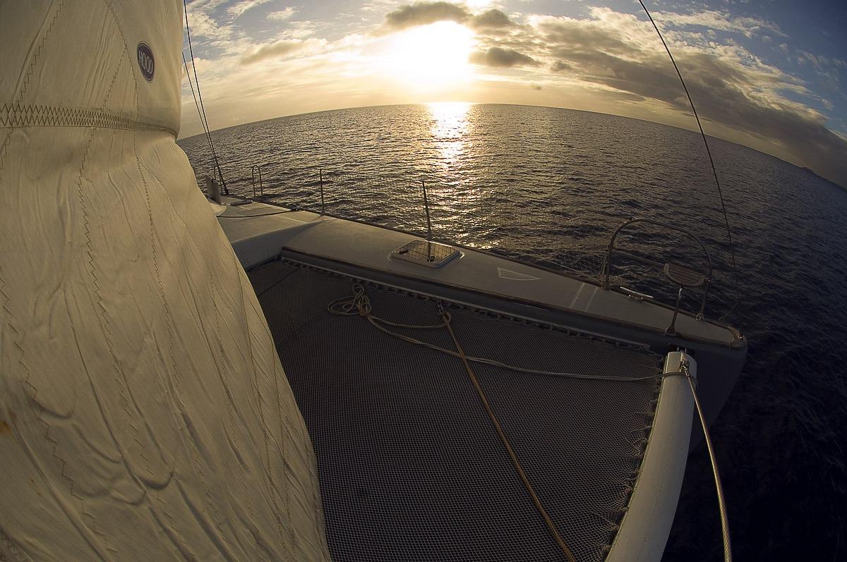 Путешествие к морю. Закат
