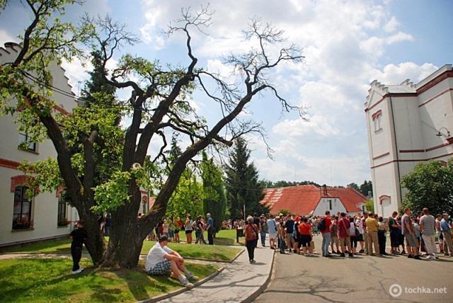 Велке Поповице - весьма живописная и колоритная чешская деревушка