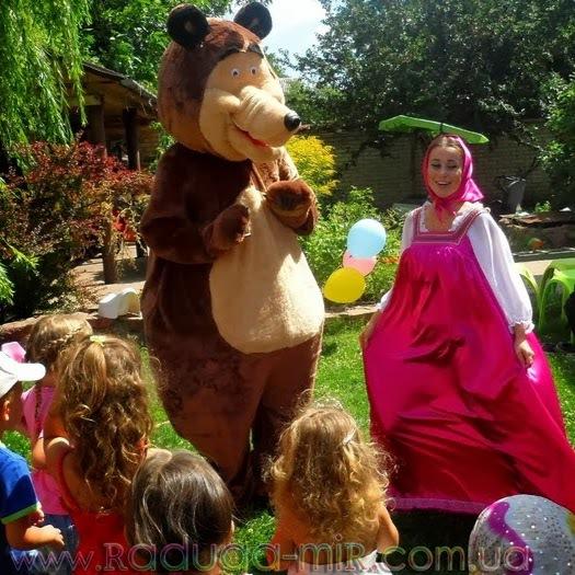 Детская программа Маша и Медведь http://raduga-mir.com.ua/masha-bear.html