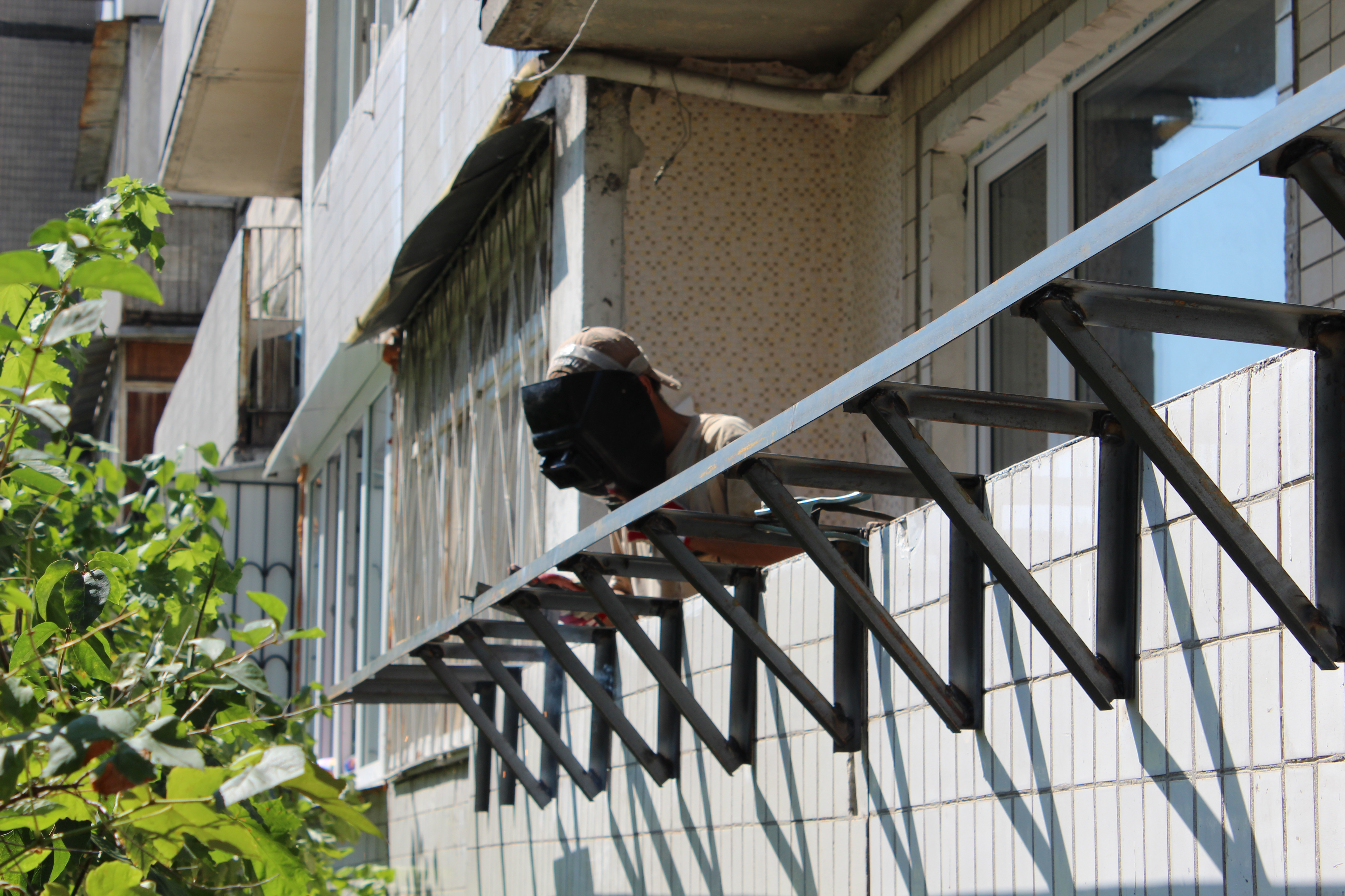 Выносной балкон своими руками фото