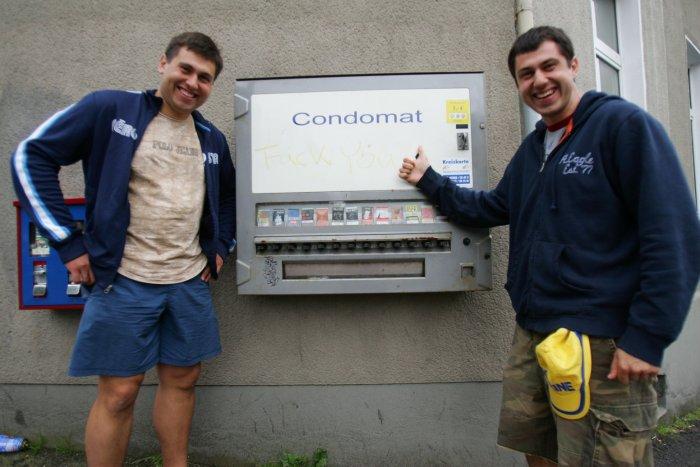 я слева. Германия 2006