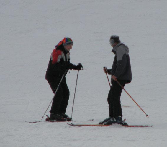 Мои первые шаги на лыжах