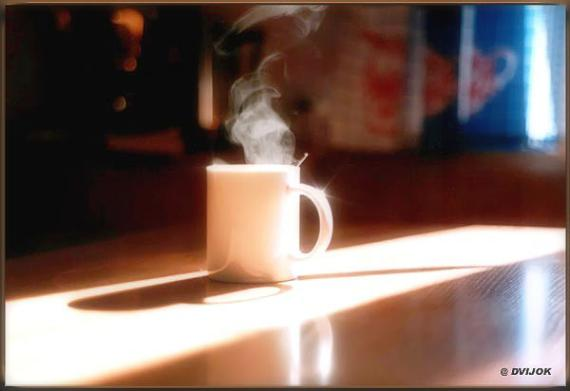 """Утро.Взбодрись!  Сделано на """"Киеве"""". Встал утром,увидел, щелкнул."""