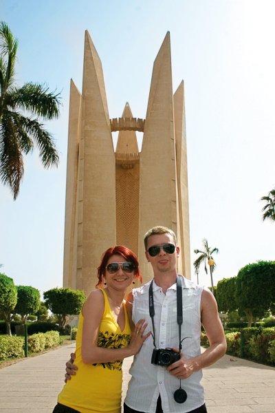 Памятник дружбы народов - СССР + Египет :))