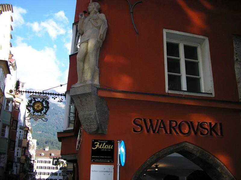 магазин Сваровски в Инсбруке, Австрия