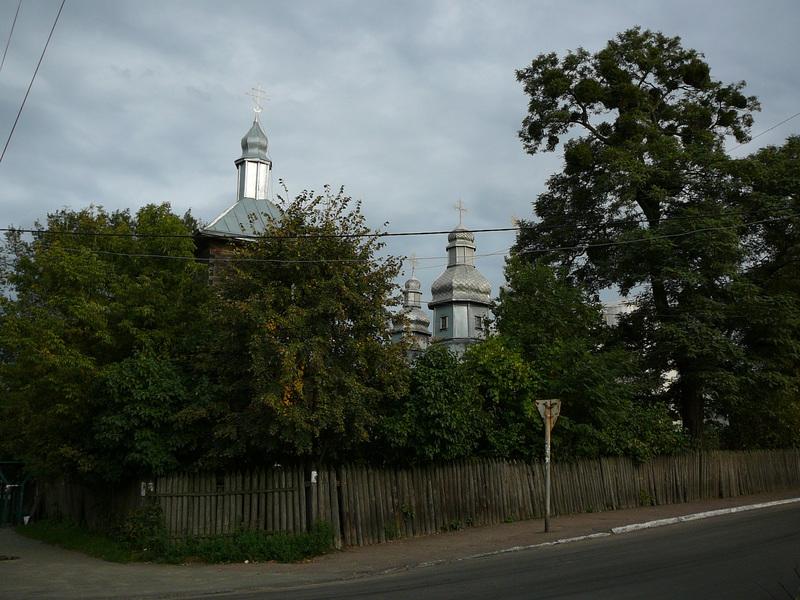 Найдавніша дерев'яна церква Фастова - Покровська