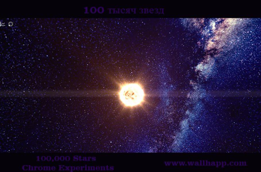 100,000 Stars - Chrome- http://www.wallhapp.com/100-000-stars