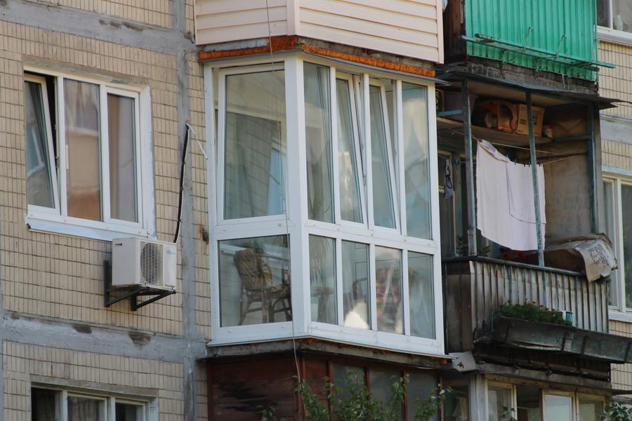 Варианты французских балконов.