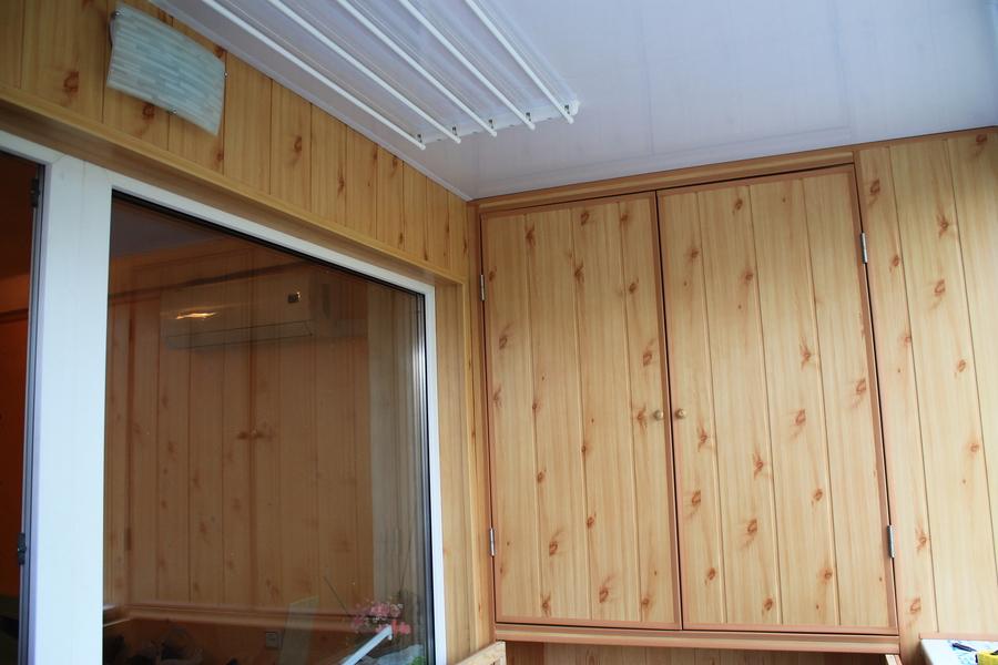Фото - обшивка балкона мдф панелями - балкон обшивка - bigmi.