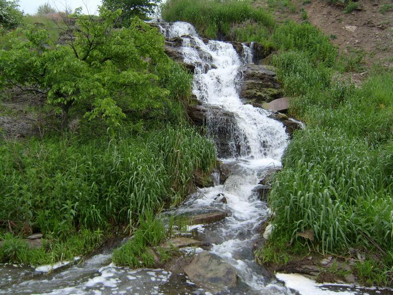 Водопад Валентиновский. г. Ровеньки, Луганская область.