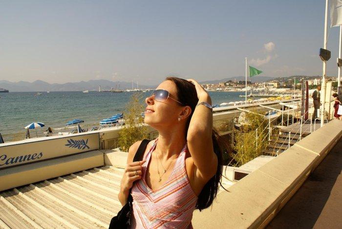 Cannes. Azure Sea, France.