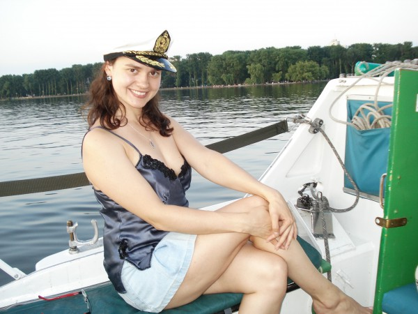 Я морячка!