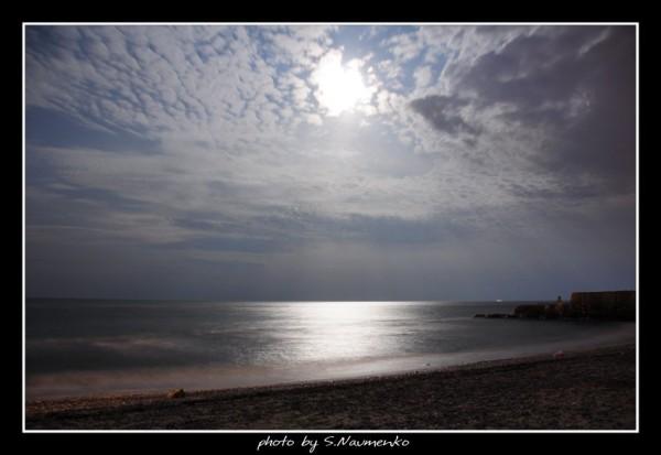 Одесские ночи на черном море