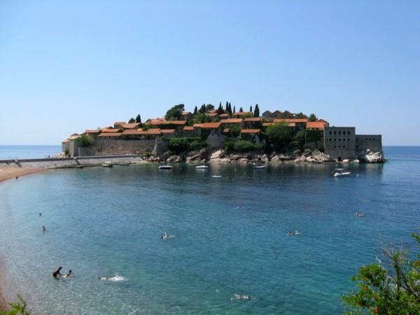 Черногория, остров Святого Стефана