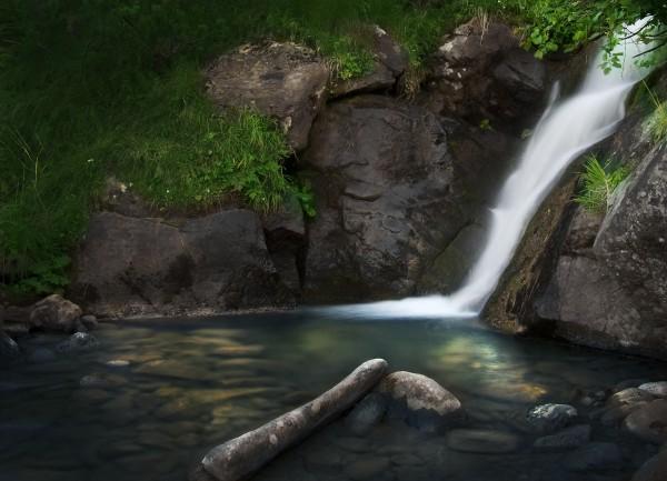 Водопад под Говерлой