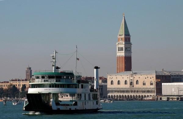 Венеция. Корабль