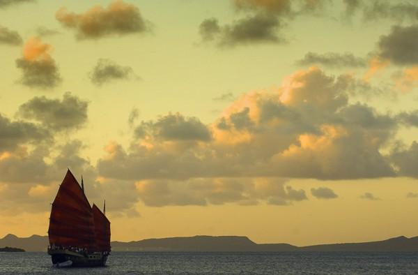 Путешествие к морю. Алые паруса