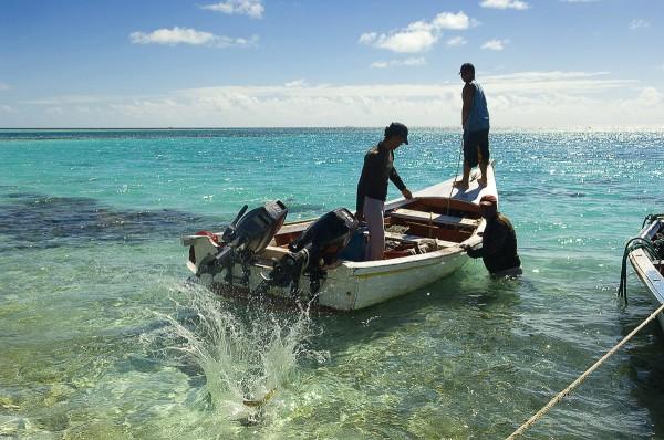 Путешествие к морю. Рыбаки