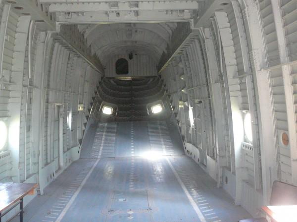 Вертоліт Мі-26. Вантажний відсік