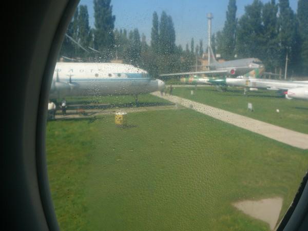 Іл-62. Уяви себе пасажиром... (вид з ілюмінатора)