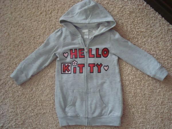 3-4г.98-104см .платье Н&М Hello Kitty, 80гр