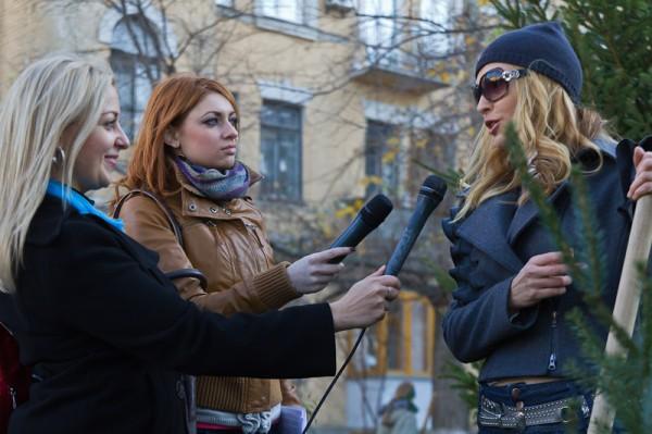 Интервью у Ольги Сумской