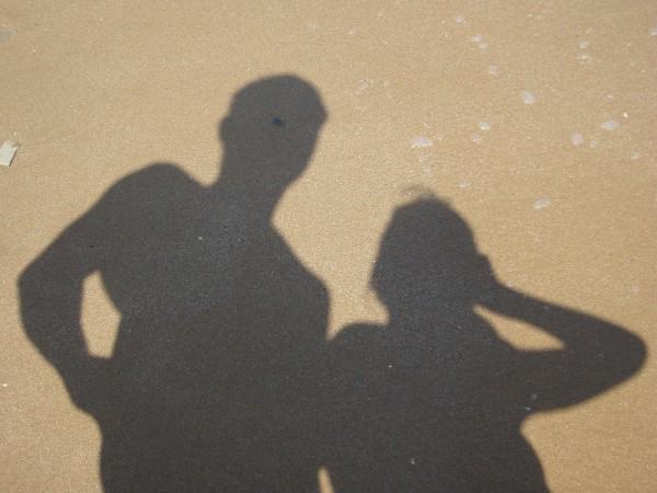 фото на песку