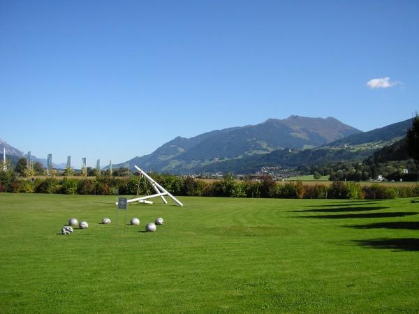 музей расположен как раз на границе между переходом от горных Альп к равнинам, есть и то и другое :)