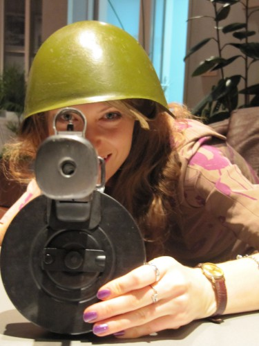 You is under my sight! Armed and dangerous)