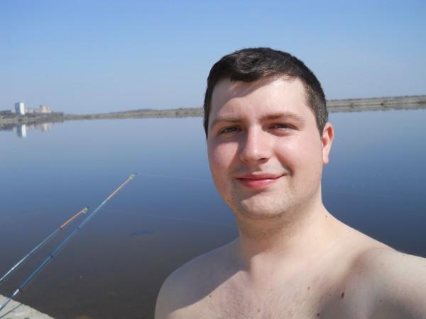 Открываю купальный сезон, апрель 2011