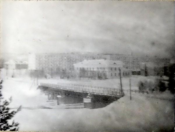 Посёлок Аллакурти.Фото 1984 года