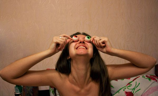 Когда смотришь в бездну, бездна смотрит на тебя ))))))