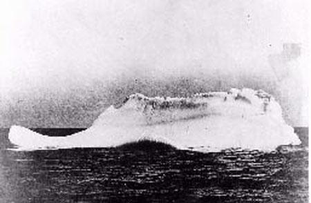 Айсберг, отправивший на дно Титаник