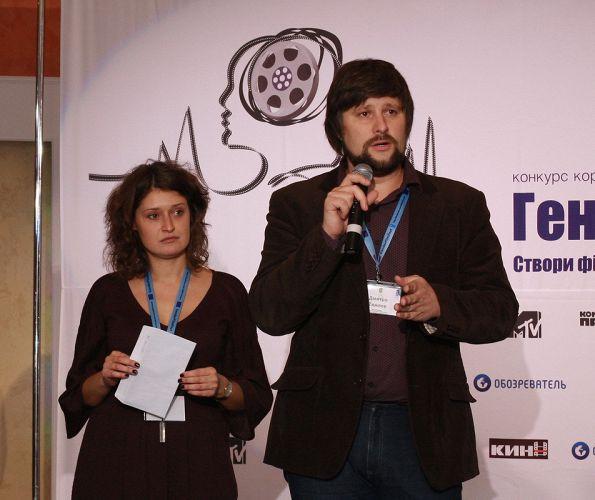 Режисер Дмитро Тяжлов висловлює задоволення від якості робіт учасників GenderFilmFest
