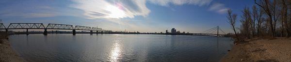 Панорама с Труханова