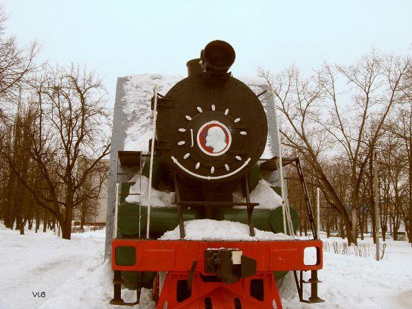 Паровоз на станции Брянск-2