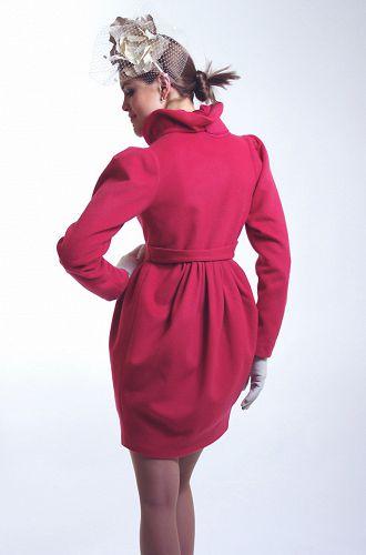 дизайнерское пальто от Дианы Павловской ,женское демисезонное пальто, пальто российского дизайнера Диана Павловская ,красивое пальто куп