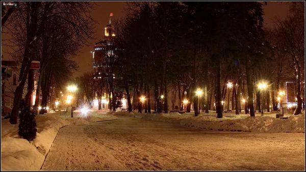 Вулиця ім. М.Грушевського /  Mykhailo Hrushevskyi st. *  27.02.2011 19:17:26 * Вінниця / Vinnytsya