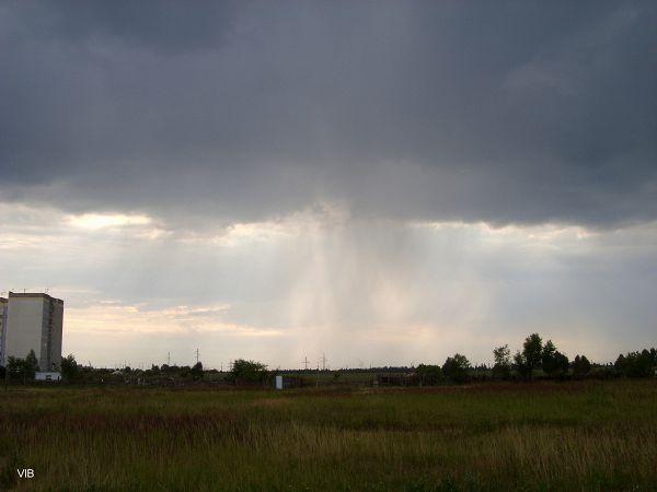 Собирается дождливая туча