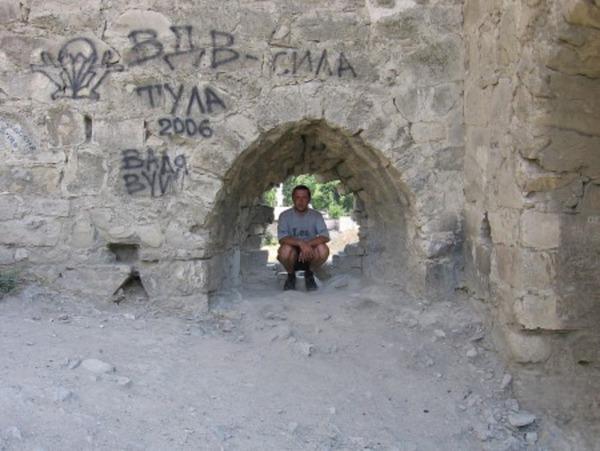 тульские ВДВ в Генуєзской крепости