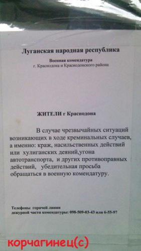 Тупые  Русские в ЛНР