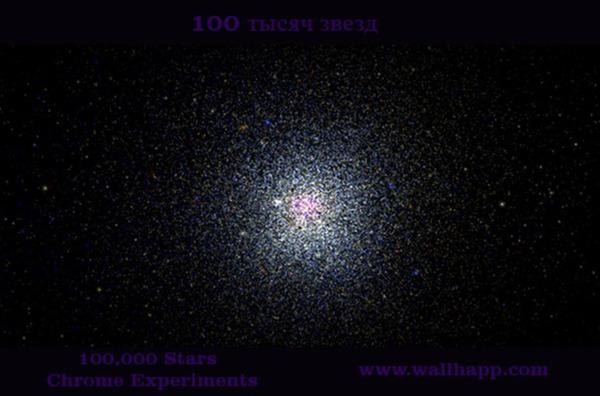Сто тысяч звезд. Интерактивная 3D визуализация звездного неба. не оставит равнодушным ни одного любителя космоса.http://www.wallhapp.com/100-000-stars