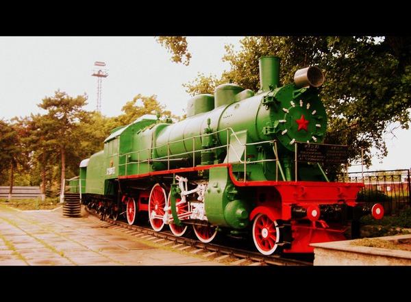 Паровоз на станции Бендеры-1
