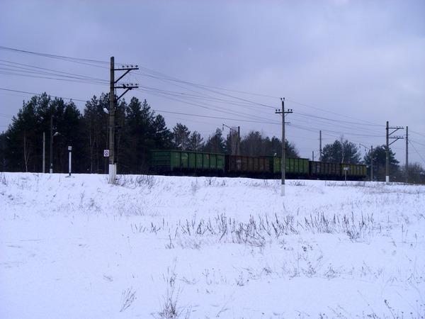 Порожние вагоны