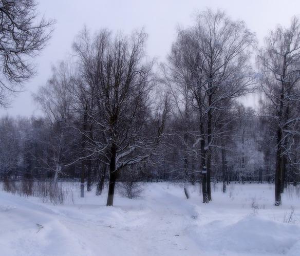 На пороге зима