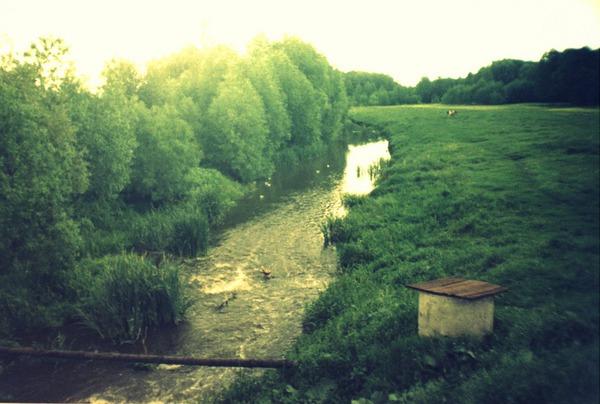 Река Езуч в Конотопе