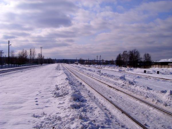 Манящий зимний снежный простор