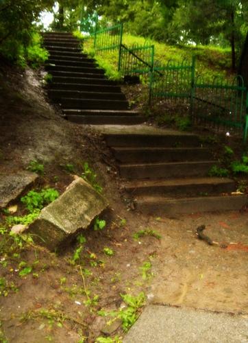 Лестница в старой ботаничке