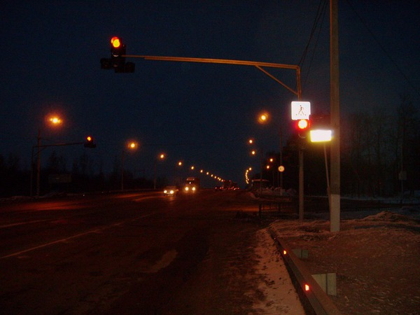Огни ночных дорог